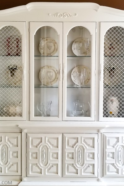 China Cabinet Makeover – Part Two