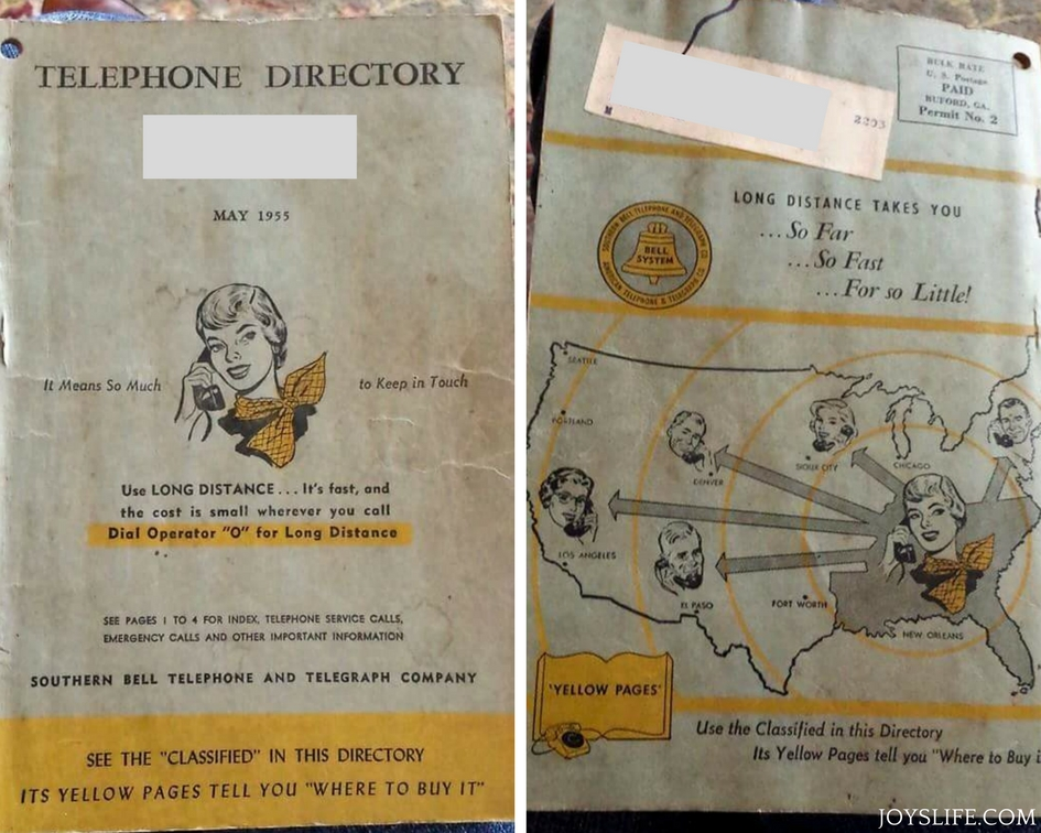 Old Yellow Pages