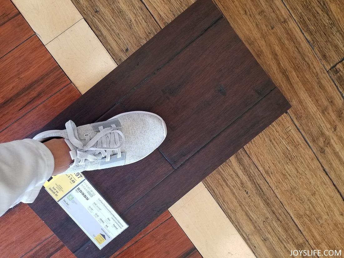 Reebok Trilux flooring at Lumber Liquidators