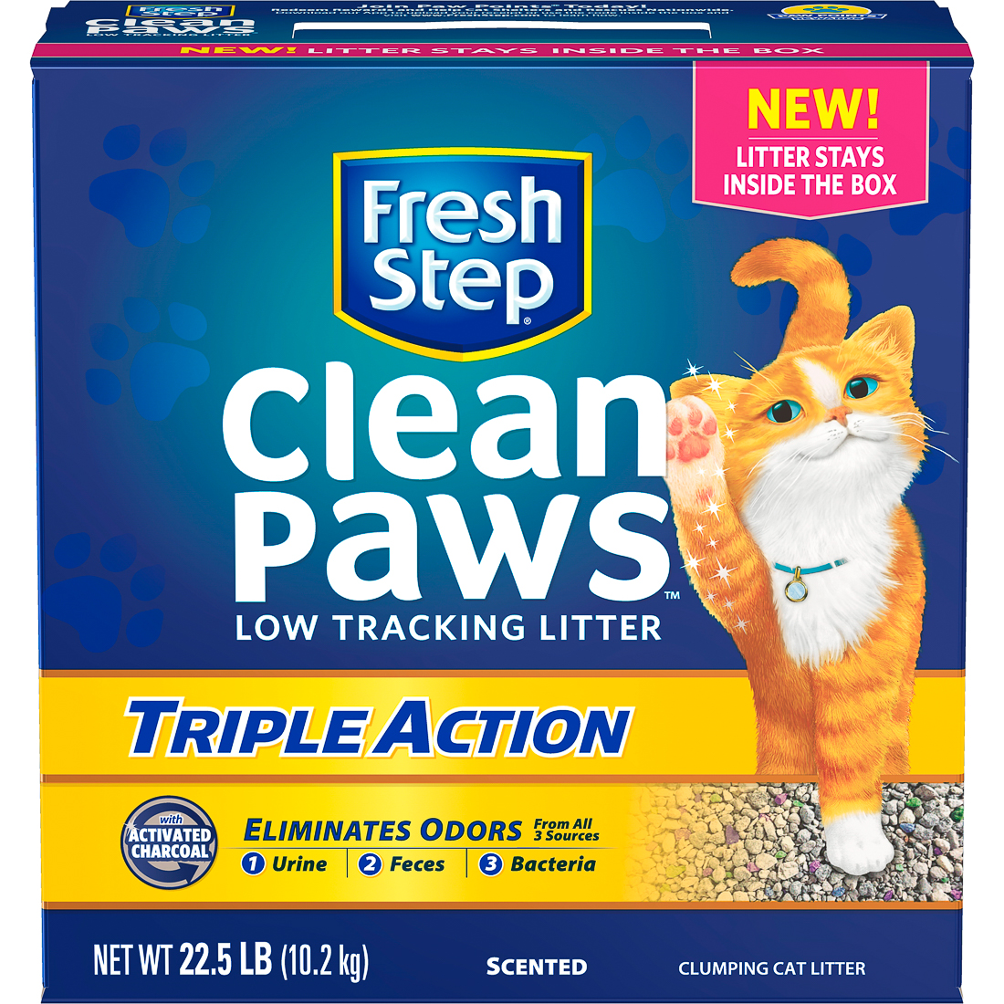 Fresh Step Clean Paws Triple Action