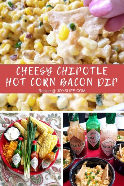 Cheesy Chipotle Hot Corn Bacon Dip Recipe at Joyslife.com