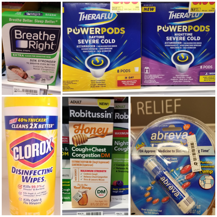 Kroger Cold and Flu Supplies
