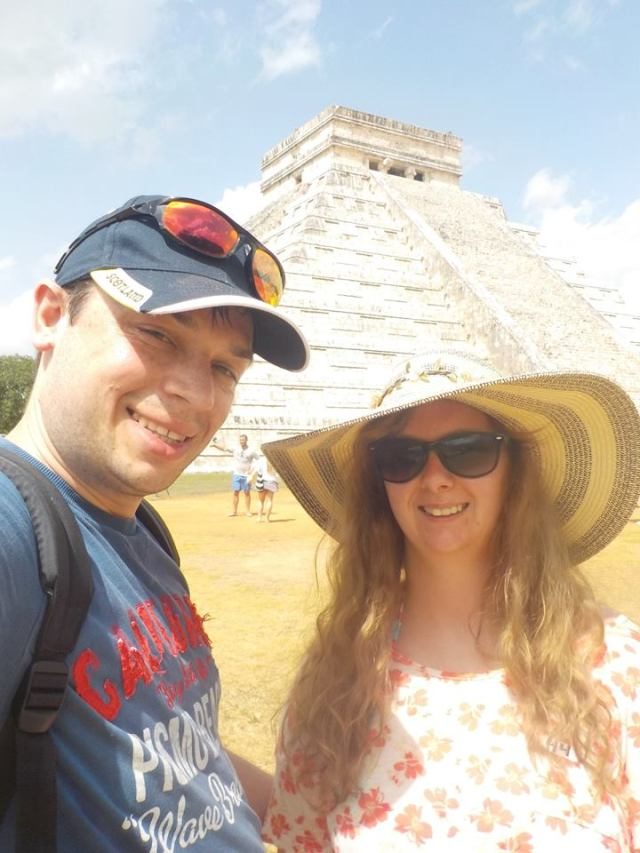 Kukulkan Pyramid in Chichen-Itza