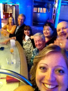 Norm's awesome time with Aussies at the ship disco