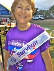 Senator Roz Baker at relay for life: see my story, this weeks Lahaina News
