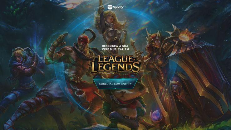 League of Legends | Spotify lança playlists temáticas de personagens do game