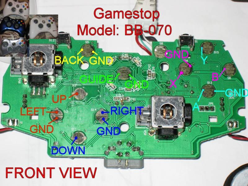 Xbox 360 controller wiring diagram wiring diagram xbox 360 controller wiring diagram merzie, HDMI Pinout Diagram for Xbox 360