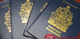 캐나다 여권