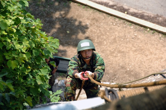 한국 훈련병