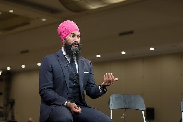 잭미트 싱 캐나다 신민주당 대표