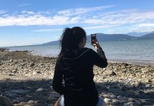 밴쿠버 바닷가