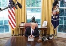 도널드 트럼프, 백악관