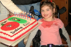 Elli 8th birthday