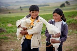 World Vision Bolivia children