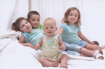 our four children in 2008