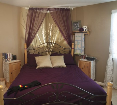 master bedroom redecorated