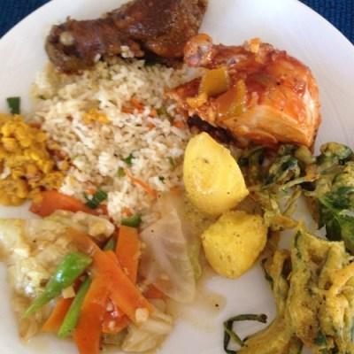 Sri Lanka meal