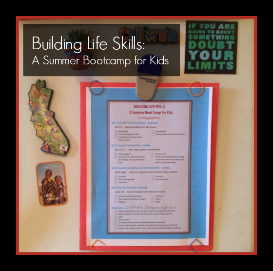 Building LIfe Skills Bootcamp for Kids