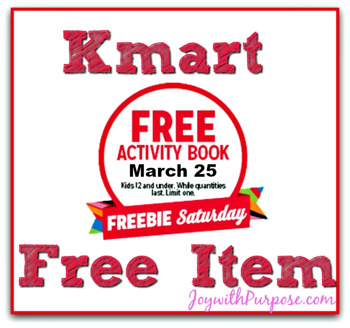 Freebie Saturday Kmart Free Item