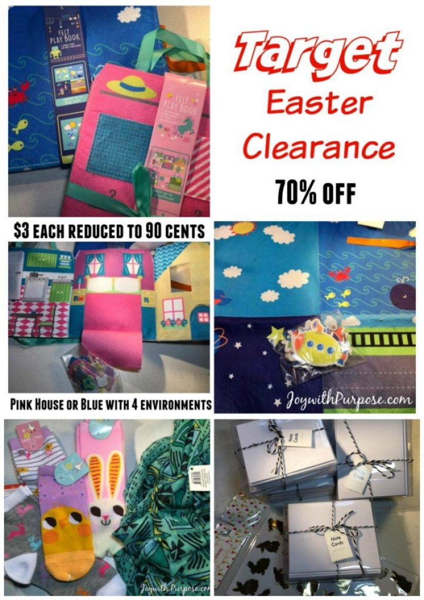 Target Easter Clearance - great treasure finds!