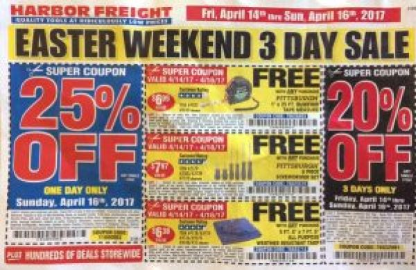 More harbor freight coupons good for april may and june joy and these coupons are good through june 3 2017 sciox Image collections