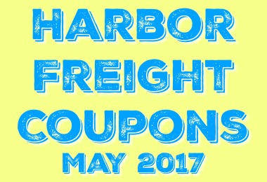 New Harbor Freight Coupons good for May 2017