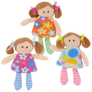 Plush Rag Doll by Dollar Tree for Doll Sleeping Bag tutorial