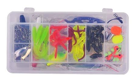walmart lures for homemade fishing kits