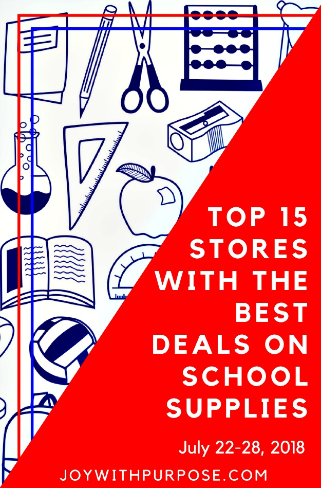 Here are the TOP 15 Stores With the Best Deals on School Supplies