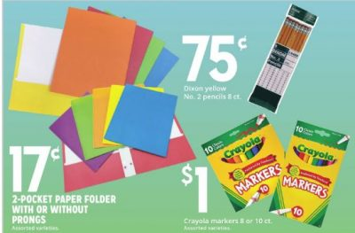 KMart where you can Find Budget School Supply Deals