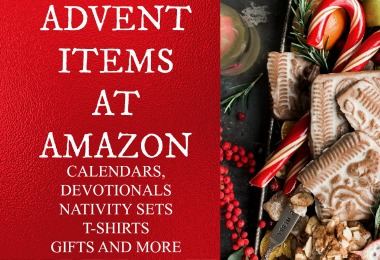 Lets celebrate Advent and you can find all you need at Amazon