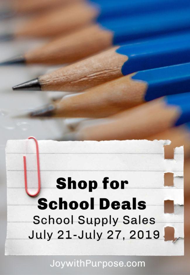 Shop for School Deals Now