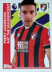 Perry Anderson Rat The Magnificent AFC Bournemouth