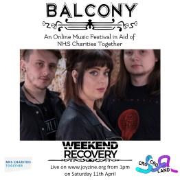 weekend recovery balcony