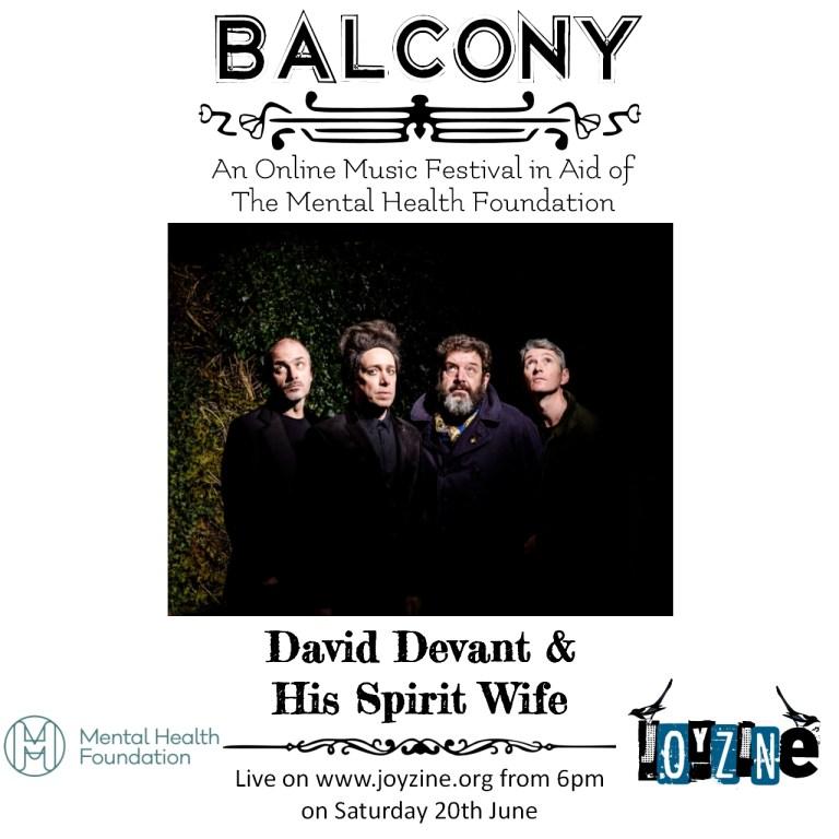 david devant and his spirit wife balcony festival for mental health foundation