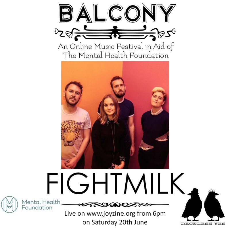 fightmilk balcony festival for mental health foundation