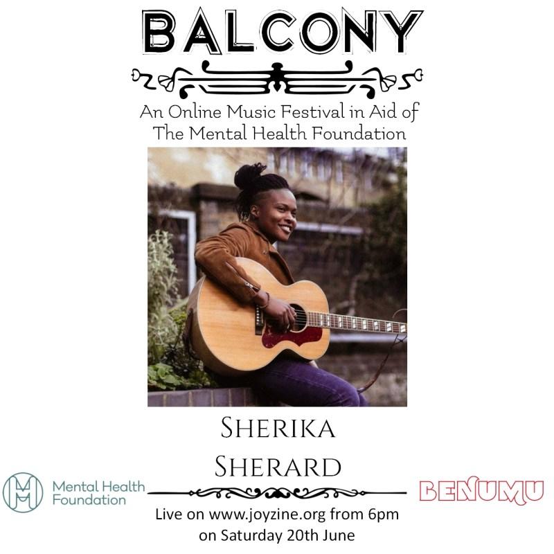 sherika sherard balcony festival for mental health foundation