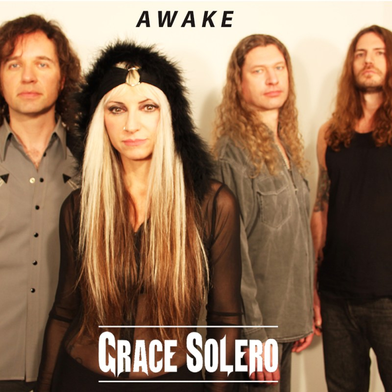Grace Solero - Awake - cover
