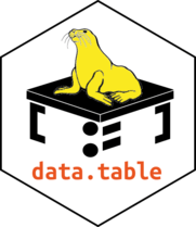 data.table's logo