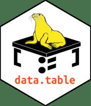 data.table's logo