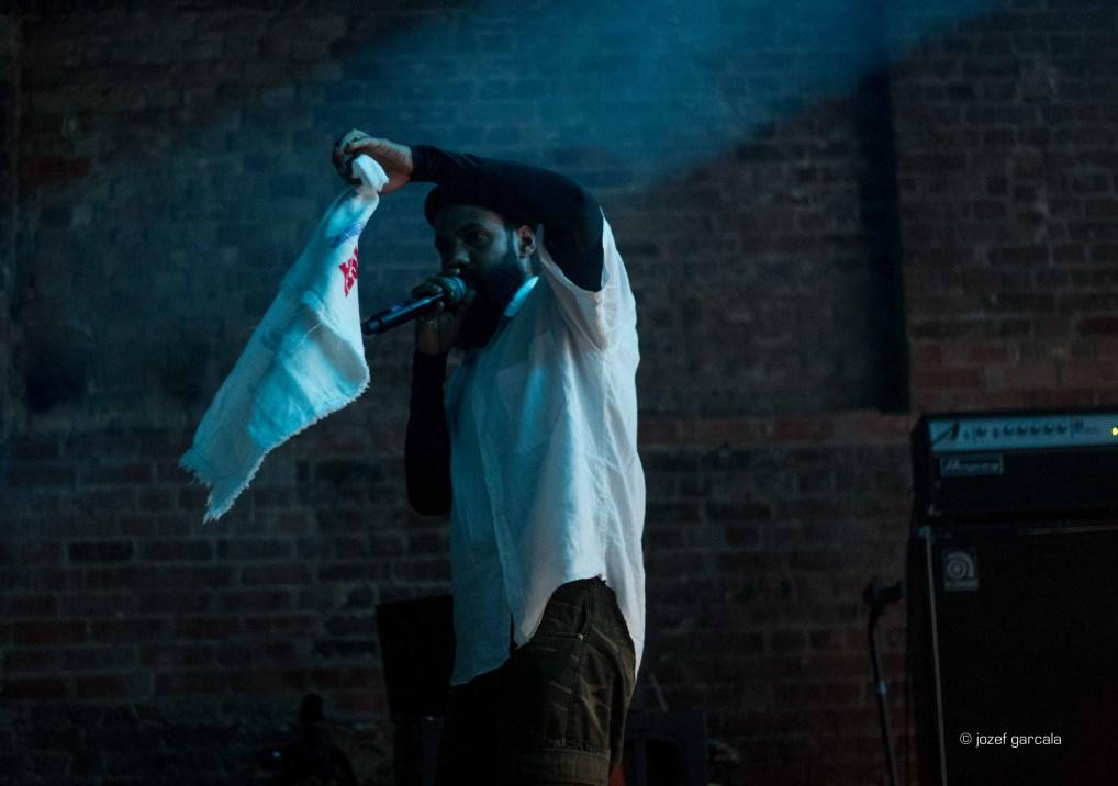 Brazilian band BaianaSystem performing at Village Underground, London UK