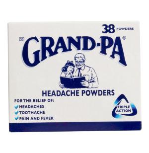 Grandpa Headache Powder 38s