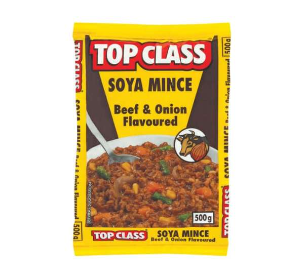 Top Class Soya Mince Beef And Onion Flavour 100g x 5