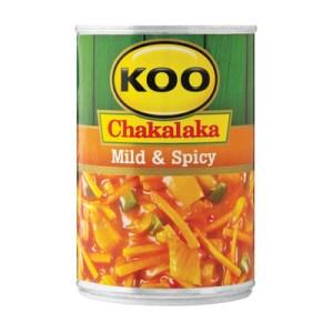 Koo Chakalaka Mild & Spicy 410g