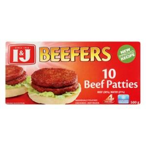 J&J Beefers 500g