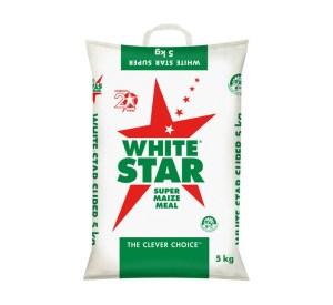 White Star Maize Meal Bopp 5kg