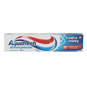 Aquafresh Aquafresh Toothpaste Fresh And Minty 100ml x 12