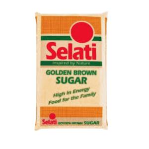 Selati Brown Sugar 1kg x 15