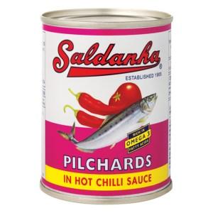 Saldanha Pilchards in Chilli Sauce 400g