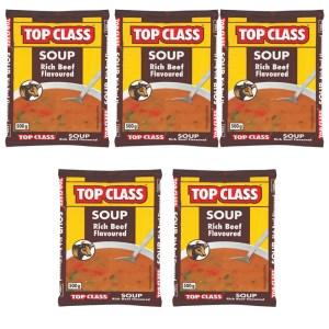 Top Class Soup Rich Beef Flavour 500g x 5